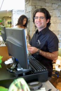 Paul Zammit at a past TBG Plant Sale